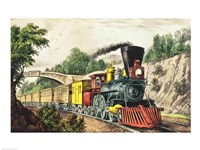 The Express Train Fine Art Print
