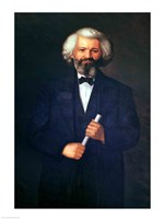 Portrait of Frederick Douglass Fine Art Print