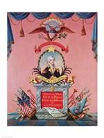In Praise of George Washington Fine Art Print