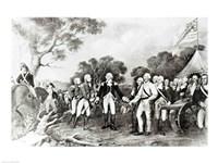 The Surrender of General Burgoyne Saratoga, New York, 17th October 1777, 1777 - various sizes