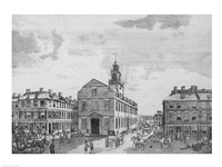 South West View of The Old State House, Boston, 1881, 1881 - various sizes