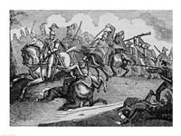 The Battle of Bracito Fine Art Print