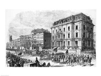 New York City: Demonstration of the Colored Inhabitants of New York in Honor of the Adoption of the Fifteenth Amendment - various sizes