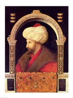 The Sultan Mehmet II Fine Art Print