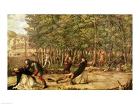 The Assassination of St. Peter Martyr Fine Art Print
