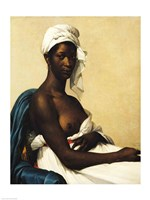 Portrait of a Negress Framed Print
