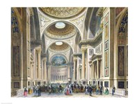 Interior of La Madeleine, Paris Fine Art Print