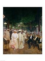 The Gardens of Paris Fine Art Print