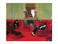 The Club, 1911 Fine Art Print