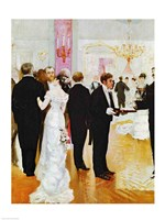 The Wedding Reception Fine Art Print