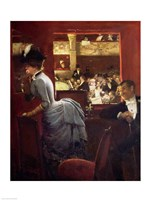 The Box by the Stalls, c.1883 Fine Art Print
