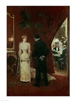 The Private Conversation, 1904 Fine Art Print