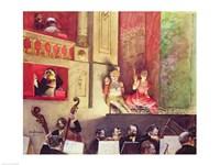 Cafe Concert Fine Art Print