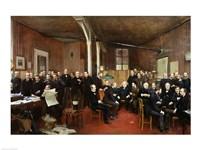 Le Journal des Debats, 1889 Fine Art Print