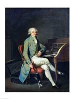 Maximilien de Robespierre Fine Art Print