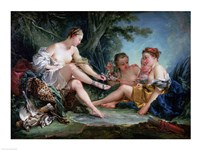 Diana after the Hunt, 1745 Fine Art Print