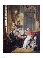 The Afternoon Meal, 1739 Fine Art Print