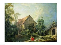 The Mill, 1751 Fine Art Print