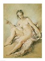 A study of Venus, 1751 Fine Art Print