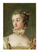 Madame de Pompadour - detail Fine Art Print