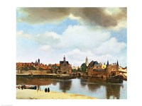View of Delft Fine Art Print