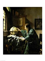 The Astronomer, 1668 Fine Art Print