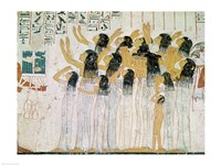Weeping Women in a Funeral Procession - various sizes