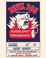 Devil Dog Firecrackers - various sizes