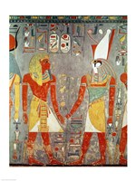 Relief depicting Horemheb Fine Art Print