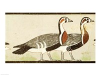 Geese, from the Tomb of Nefermaat and Atet, Old Kingdom - various sizes