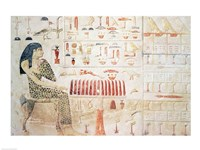 Stela of Princess Nefertiabet Fine Art Print