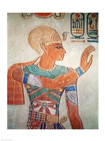 Portrait of Ramesses III Fine Art Print
