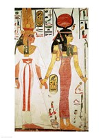Isis and Nefertari, from the Tomb of Nefertari Fine Art Print