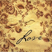 Love (natural) Fine Art Print