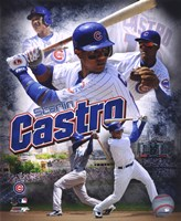 Starlin Castro 2011 Portrait Plus Fine Art Print