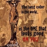 Best Color Framed Print