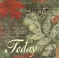 Pressed Leaf Today Fine Art Print