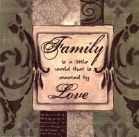 Sage/Cream...Family Fine Art Print