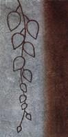 """Cascading Leaves II by Kristin Emery - 12"""" x 24"""""""