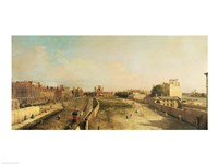 Whitehall by Giovanni Antonio Canaletto - various sizes