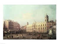 Northumberland House by Giovanni Antonio Canaletto - various sizes