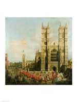 Procession of the Knights of the Bath Fine Art Print
