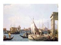The Punta della Dogana, 1730 Fine Art Print
