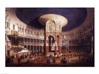 Ranelagh Gardens, the Interior of the Rotunda by Giovanni Antonio Canaletto - various sizes