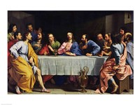 The Last Supper, 1648 Fine Art Print