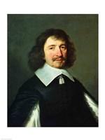 Portrait of Vincent Voiture Fine Art Print