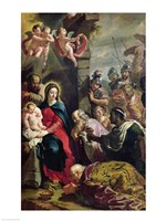 Adoration of the Magi by Philippe De Champaigne - various sizes