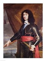 Portrait of Charles II Fine Art Print