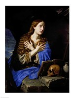 The Penitent Magdalene, 1657 Fine Art Print