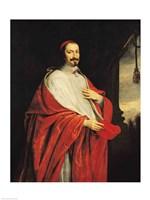 Portrait of Jules Mazarin Fine Art Print